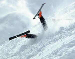 chiropractic fall skiing