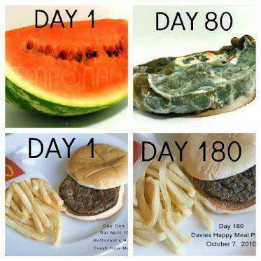 fast food eczema asthma mcdonalds